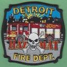 Detroit Fire Department Hazardous Materials Response Team Fire Patch