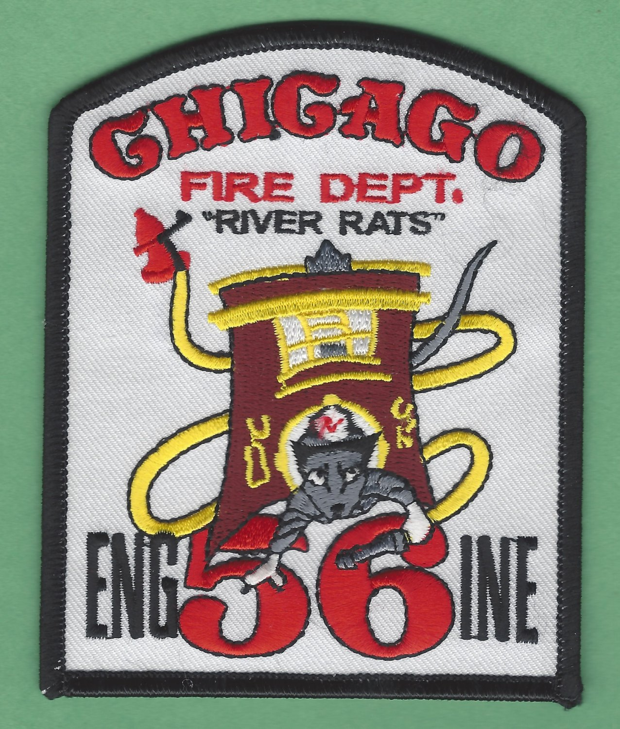 Chicago Fire Department Engine Company 56 Fire Patch