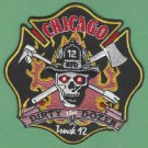 Chicago Fire Department Truck Company 12 Patch