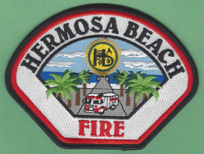 Hermosa Beach California Fire Rescue Patch