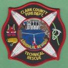 Clark County Nevada Technical Rescue Team Fire Patch