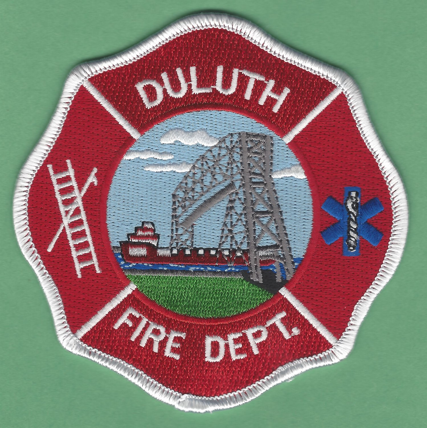 Duluth Minnesota Fire Rescue Patch
