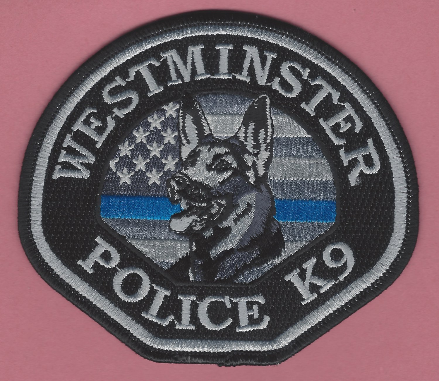 Westminster California Police K-9 Unit Patch