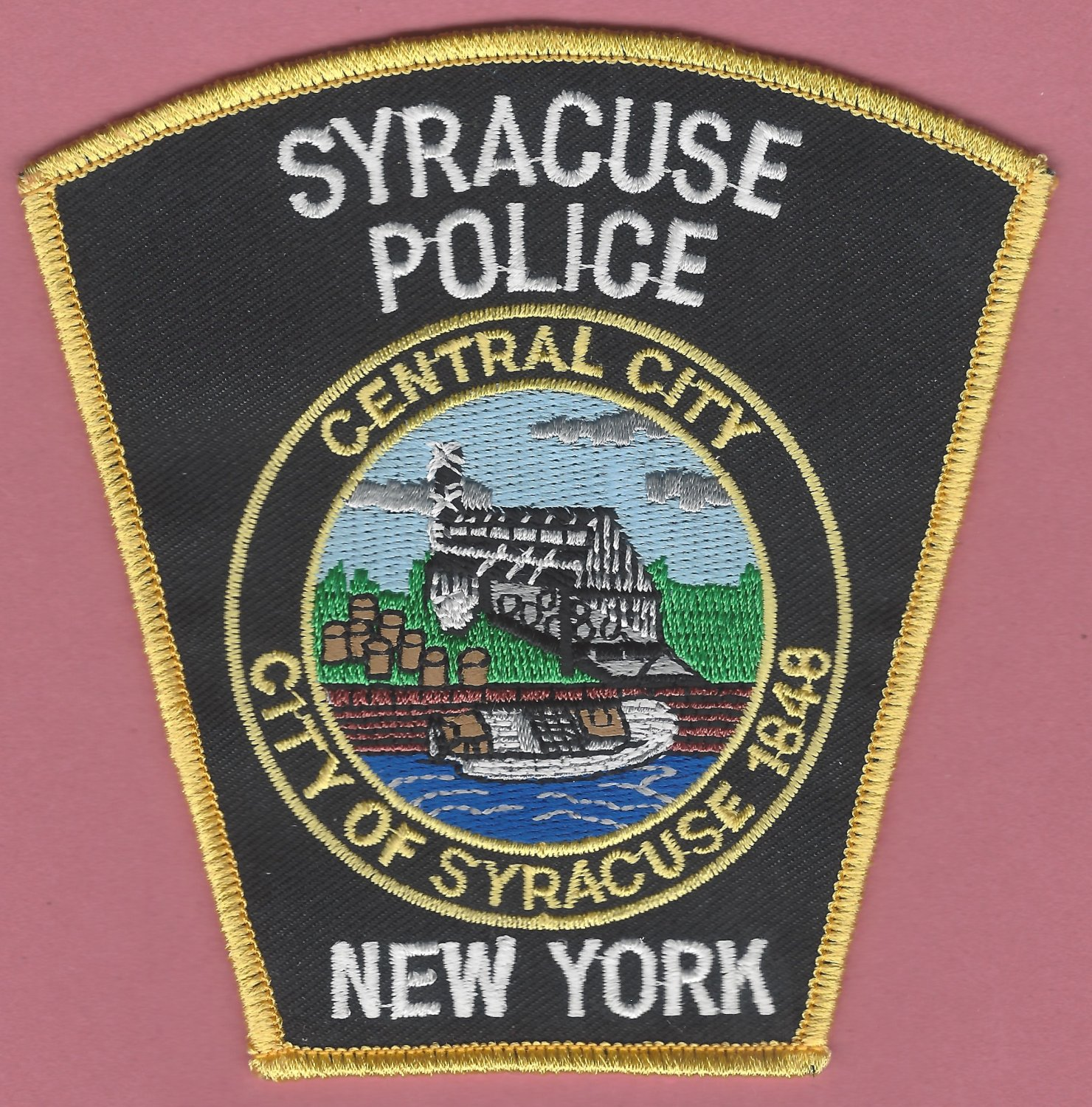 Syracuse New York Police Patch NEW STYLE