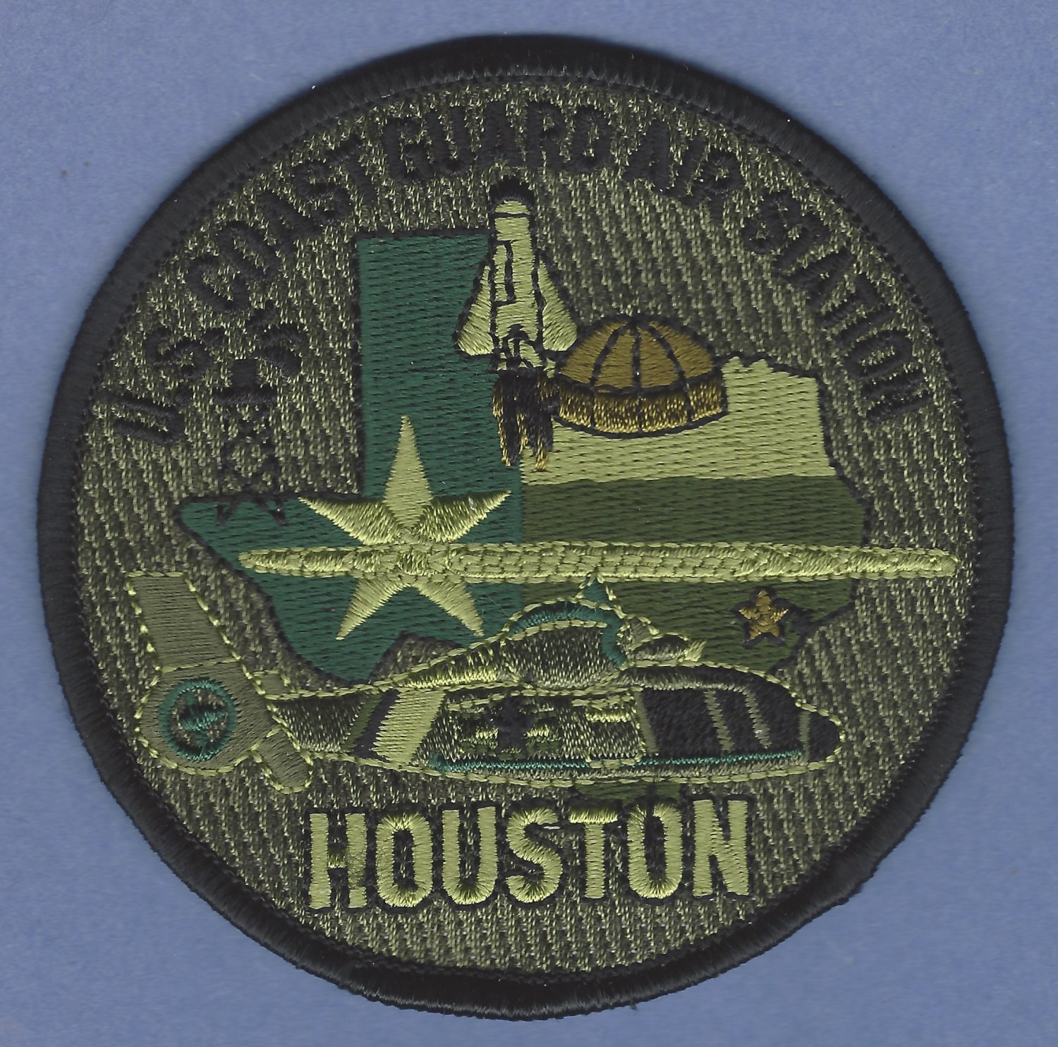 United States Coast Guard San Francisco Air Station Patch Green