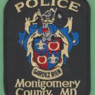 Montgomery County Maryland Police Patch