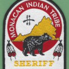 Monacan Tribal Sheriff Virginia Patch