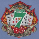 Chicago Fire Department Engine Company 7 Fire Patch
