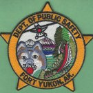 Fort Yukon Alaska Public Safety Police Patch