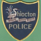 Shiocton Wisconsin Police Patch