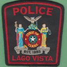 Lago Vista Texas Police Patch