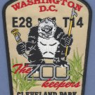 District of Columbia Fire Department Engine 28 Truck 14 Company Patch