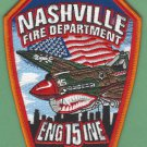 Nashville Fire Department Engine 3 Company 15 Patch