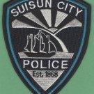 Suisun City California Police Patch