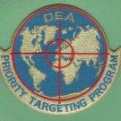 DEA Drug Enforcement Administration Priority Targeting Program Patch