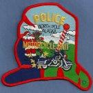 North Pole Alaska Police Motorcycle Unit Patch
