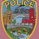 Brownsville Pennsylvania Police Patch Locomotive