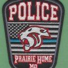 Prairie Home Missouri Police Patch