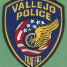 Vallejo California Police Traffic Division Patch