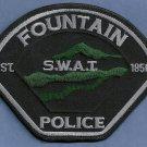 Fountain Colorado Police SWAT Team Patch