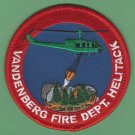 Vandenberg Air Force Base California Fire Helitack Patch