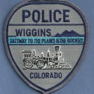 Wiggins Colorado Police Patch Locomotive
