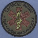 "3"" Tactical Medic Police-Fire-Ambulance Patch"