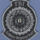 FBI Federal Bureau of Investigation Evidence Response Team Patch Gray