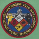 FBI Washington D.C. Field Office National Capitol Response Team Patch