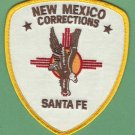 New Mexico Department of Corrections Santa Fe Facility Patch