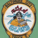Baltimore City Fire Department Truck Company 5 Fire Patch