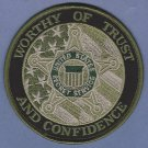United States Secret Service Trust & Confidence Patch Green