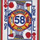Baltimore City Fire Department Engine Company 58 Fire Patch