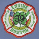 Boston Fire Department Engine Company 39 Fire Patch