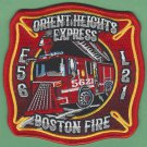 Boston Fire Department Engine 56 Ladder 21 Company Patch
