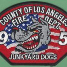 Los Angeles County Fire Department Engine Company 95 Patch