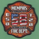 Memphis Fire Department Engine 58 Truck 28 Company Patch