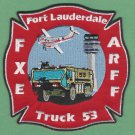 Fort Lauderdale Executive Airport Fire Rescue Crash Company 53 Patch ARFF