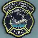 Minneapolis-St. Paul International Airport Fire Rescue Patch ARFF
