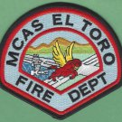 El Toro Marine Corps Air Station California Fire Rescue Patch