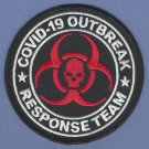 Resident Evil Zombie Apocalypse Covid-19 Outbreak Response Team Patch