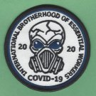 International Brotherhood of Essential Workers Covid-19 2020 Patch