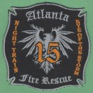 Atlanta Fire Department Engine Company 15 Fire Patch