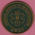 FBI Federal Bureau of Investigation EMT Emergency Medical Technician SWAT Patch