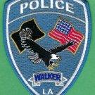 Walker Louisiana Police Patch