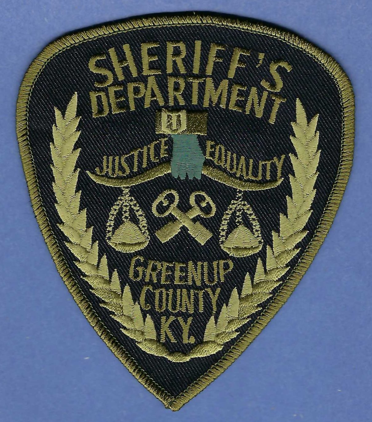 Greenup County Sheriff Kentucky Tactical Police Patch