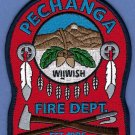 Pechanga Indian Reservation California Fire Rescue Patch