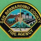 San Bernardino County California Fire Agency Patch