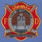 Savannah Georgia Fire Patch