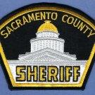 Sacramento County Sheriff California Police Patch